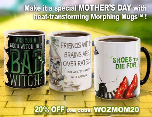 WOZ Mug Advert