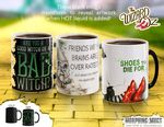 WOZ Mug Advert